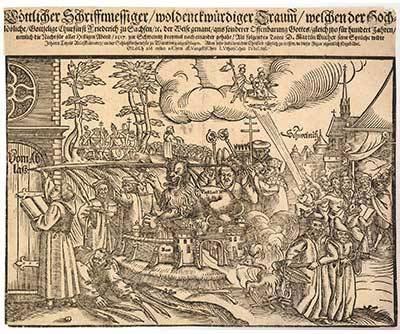 マルティン・ルターの宗教改革300周年記念で1817年に作られたゴールド ...